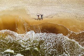 Baltic sea waves   Palanga aerial #259/365