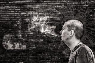 Study in Street Smoke