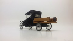 1920 Ford Model TT Flatbed (pontynex) Tags: lego 1920 ford model tt runabout roadster vintage automobile 6 wide moc stovetop black pickup truck flatbed
