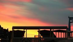 Victoria, B.C. inner harbour sunset (joybidge) Tags: sunset trishcanada naturepatternscanada victoriabc