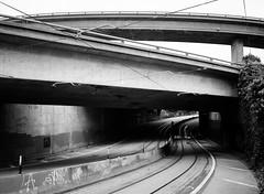 San Francisco (bior) Tags: fujifilmga645zi ga645zi ilfordfp4plus125 fp4 fp4plus ilfordfilm sanfrancisco 6x45cm 645 mediumformat filmphotography film street overpass underpass road highway