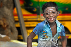I'am the son of God! (Nithi clicks) Tags: boy teen smile