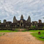 Angkor Wat seen from the East near Siem Reap, Cambodia thumbnail
