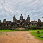 Angkor Wat seen from the East near Siem Reap, Cambodia thumbnail