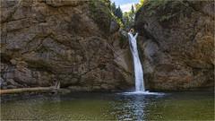 Buchenegger Wasserfall (Robbi Metz) Tags: deutschland germany bayern bavaria allgäu bucheneggerwasserfall landscape rock waterfall weissach water colors canoneos