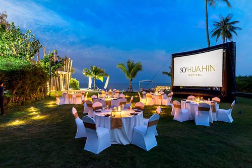 Event Lawn - Banquet Setup