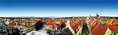 Panorama of Bautzen (Saxony, Germany) (Veitinger) Tags: panorama bautzen budyšin stadt town city sachsen saxony germany deutschland dach dächer roof roofs weitblick landschaft landscape veitinger sony tamron tamron16300 haus häuser gebäude buildings houses