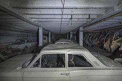 Spares or repairs (www.MatthewHampshire.com) Tags: cars ford garage