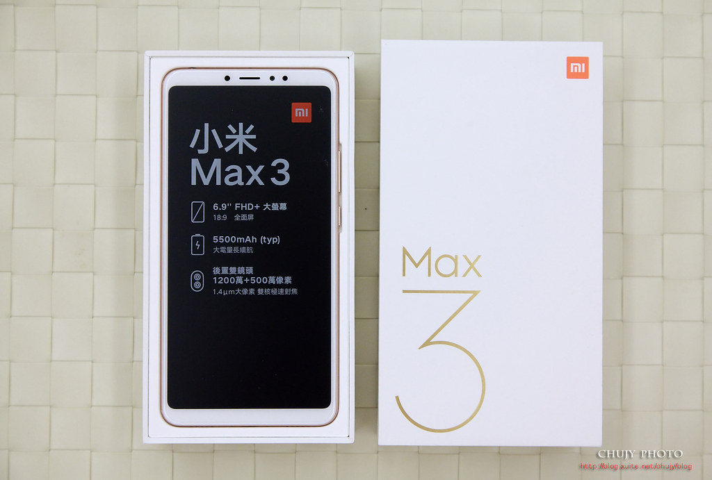 (chujy) 小米Max 3 巨無霸級全面屏,Root + Google Camera HDR