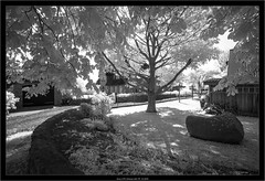 Sony A7R infrared with FE 16-35/f4 (Dierk Topp) Tags: a7r bw ilce7r ir architecture föhr infrared islands monochrom sw sony