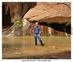 2D-TheNarrows-105 (stereo_eyz) Tags: zion nationalpark utah virginriver hiking canyon rock water narrows