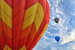 Plainville, CT Baloon Festival 2018 (Kelly Nigro) Tags: baloon festival plainville ct hotair clouds hotairballoon colorful event sky