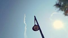Repülő az égen (www.czeglediaron.hu) Tags: repülő ég