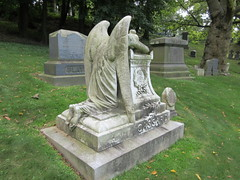 Cassard Monument Angel of Grief Green-wood 9130 (Brechtbug) Tags: grieving angel white marble cemetery statue wings graveyard tomb greenwood brooklyn nyc 2018 new york city 09012018 cassard monument grief based design by sculpture william wetmore story from 1894 green wood weeping
