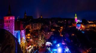 Blick auf Bautzen zum Altstadtfestival