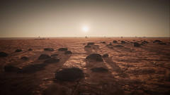 Sunset on the Daymar 4K (Corsair62) Tags: star citizen game screenshot squadron 42 flight space ship cig robert industies pc ingame shot simulator video wallpaper corsair62 photography reclaimer 4k 219 gaming image scifi foundry cloud imperium games people photo daymar sunset rocks stones