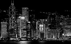 Hong Kong (ravalli1) Tags: hongkong asia longexposure blackandwhite travel vacations 2017 nikon night nightphotography flickr