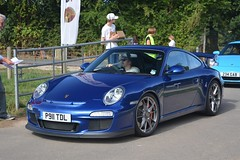 Porsche 911 GT3 (CA Photography2012) Tags: p911tdl porsche 911 gt3 coupe blue 997 series 9972 generation rs rennsport gt 3 cup lightweight supercar sportscar german super sports ca photography automotive exotic car spotting owners club lotherton hall 2018