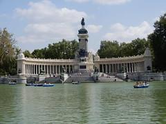 Views of Madrid (VJ Photos) Tags: hardison madrid parquedelbuenretiro alfonsoxii