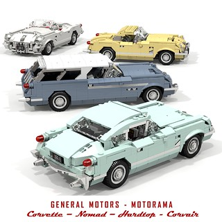 General Motors - Motorama - Corvette Concepts - 1953-54