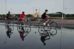 DSC_1705 (rajashekarhk) Tags: colours chennai capital cycling red reflections marinabeach rajashekar rainwater cyclist beauty blue beach beachphotography nikon natural travel tourism tamilnadu travalphotography tourist southindia sky street streetphotography