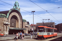 Helsinki (horstebertde) Tags: sfvr hslhelsinginseudunliikenne bahnhof empfangsgebäude hklhelsinginkaupunginliikennelaitos strasenbahn suomi fi