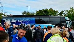 Tour of Britain in Nuneaton (johnbray69) Tags: tour britain cycling nuneaton chris froome geraint thomas