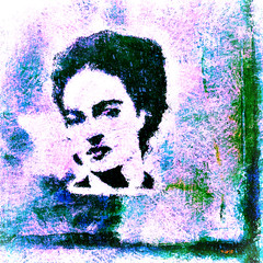 < Ella está aquí ahí y en todas partes > (Wandering Dom) Tags: frida kahlo mexican painter tijuana mexico pueblo people human iconic impression expression being nothingness earth multiverse reality dream roam wandering here there everywhere está aquí ahí todaspartes