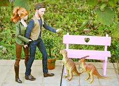 Bench (КристинаCristina) Tags: barbie barbiedoll mattel doll toy