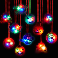 LED Necklaces For Halloween (mywowstuff) Tags: gifts gift ideas gadgets geeky products men women family home office