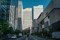 Downtown (samstandridge) Tags: yokohama tokyo japan japanese travel asia city buildings building skyscrapers sky tall reflection reflections sam standridge sony alpha a7riii a7r a7 iii street