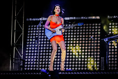 🌀 Annie Clark, St. Vincent (Joshua Mellin) Tags: stvincent annieclark ernieball customized signature guitar masseduction fearthefuture iamalotlikeyou iamalotlikeyoutour fearthefuturetour 2018 grandoozy denver colorado festival music live concert album tour tickets dates photo picture pictures photos pics annie clark indie goddess songwriter female powerful amazing glowing colorful stage production lighting bright smile rock rockstar summer fest series win icon iconic ideal perfect unique bold woman singersongwriter writer actor director instagram twitter joshuamellin travel traveling spotify applemusic apple jobs mac