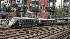 800006 (JOHN BRACE) Tags: 2016 hitachi newton aycliffe built class 8000 bi mode inter city express unit 800006 gwr green livery seen passing royal oak tube station just out side paddington
