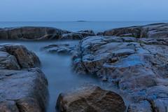 Blue (Mika Lehtinen) Tags: blue bluehour night lowlight longexposure fäboda finland jakobstad suomi stone blured bluredwater
