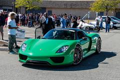 Porsche 918 Spyder (Rivitography) Tags: porsche 918 spyder 918spyder green rare exotic fast car supercar expensive horsepower hypercar paramus newjersey 2017 canon rebel t3 adobe lightroom rivitography