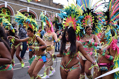 DSC_8320 (photographer695) Tags: notting hill caribbean carnival london exotic colourful costume girls dancing showgirl performers aug 27 2018 stunning ladies