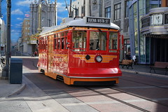 Red tram 717 (Igor Isaychuk) Tags: ilce7r a7r za zeiss sonnartfe1855 sony ca california street