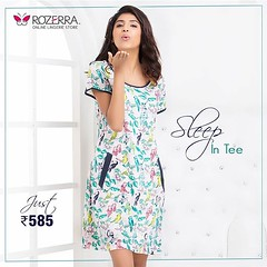 Lounge around in style in our floral nightwear. #Women #sale #Panties #love #videos #babydoll #shop #work #beach #everyday #dating #bollywood @LakmeFashionWeek #rightfit #clovia #dress #sleepwear (rozerraofficial) Tags: buy bras lingerie panties nightwear online rozerra