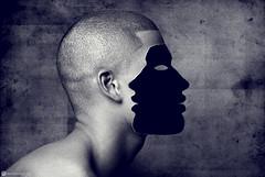 Dark Side (Marco San Martin) Tags: arte artwork artvisuals marcosanmartin marcosanmartinfotografia man hombre cara lies portrait retrato blackandwhite blancoynegro blackandwhitephotography creative creativeart myart mywork