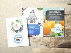 BlueOcean_Diptico_Mockup (FredPez) Tags: design diseño menu menú restaurante bar restaurant fresh summervibes modern elements tríptico trifold bifold díptico