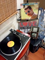"""FreddieMercury. Mr. Bad Guy (1985/CBS/Brazil)  """"...So take a chance with me Let me romance with you I'm caught in a dream And my dream's come true So hard to believe This is happening to me An amazing feeling Comin' through - I was born to love you With e (Edosoutros) Tags: inch audiophile studio minimaltechno vinylgram vinyligclub producer electronicmusic nice gt vinylcollectionpost deephouse funk recordjunkie soul feature nyc musiclovers soundcloud ableton instagood electronica vinyls love vinylrecords custom musiclover pop jazz design"""