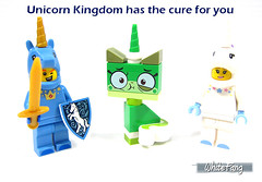 Unicorn Kingdom has the cure for you (WhiteFang (Eurobricks)) Tags: lego bind bags unikitty series 1 brick built animals kitty puppy box colourful vibrant sunshine cheerful fun pink