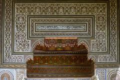 2018-4707 (storvandre) Tags: morocco marocco africa trip storvandre marrakech historic history casbah ksar bahia kasbah palace mosaic art