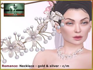 Bliensen - Romance - necklace