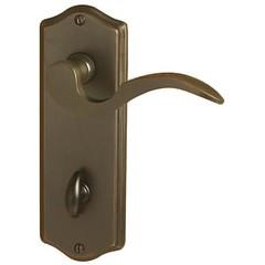 EMTEK DOOR HARDWARE SIDEPLATE LOCKSETS BRASS THUMBTURN COLONIAL PLATE NON -KEYED PRIVACY 3-3/8″ C-C (cabinetknobsandmoree) Tags: emtek door hardware sideplate locksets brass thumbturn colonial plate non keyed privacy 338″ cc