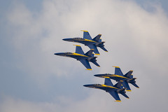 Blue Angels Rehearsal (DFChurch) Tags: blue angle f18 navy flight team practice pensacola naval air station