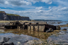 The SS Rohilla (daveseargeant) Tags: whitby ss rohilla shipwreck north yorkshire saltwick nab bay leica x typ 113 colour seaside sea coast