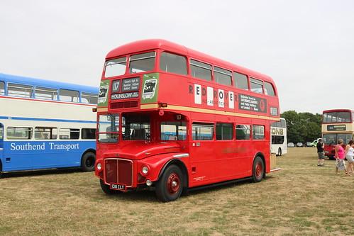 London Transport - 138 CLT(RM1138) @ Essex Bus Rally 22-07-18 - a