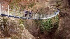ponte tibetano (SDB79) Tags: ponte tibetano roccamandolfi molise escursione treking natura