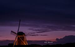 Purple sky (katrinchen59) Tags: sky eveningsky horizon colorfulsky weatherphotography windmill beautifulsky clouds skypainter abendhimmel abendrot horizont wetterfoto wetterfotografie windmühle wolken avondlucht weerfoto weetfotografie molen borgelinkmolen thenetherlands
